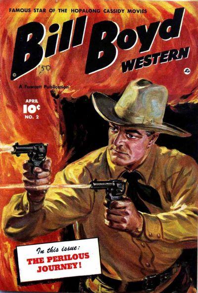 Cover for Bill Boyd Western (Fawcett, 1950 series) #2