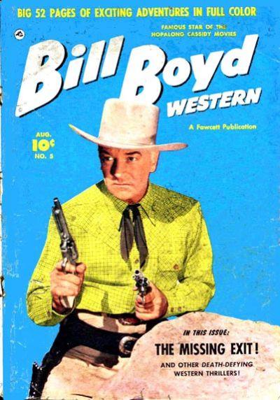 Cover for Bill Boyd Western (Fawcett, 1950 series) #5