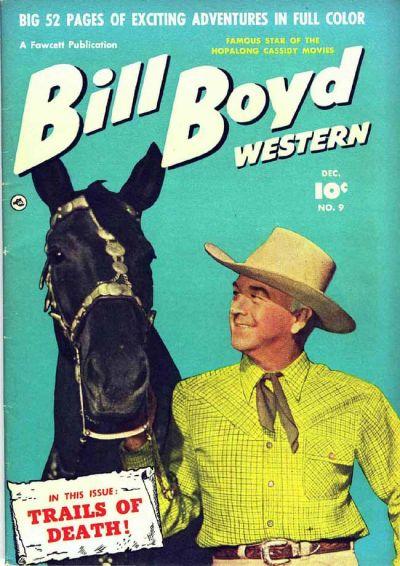 Cover for Bill Boyd Western (Fawcett, 1950 series) #9