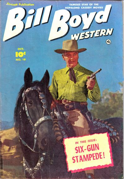 Cover for Bill Boyd Western (Fawcett, 1950 series) #19