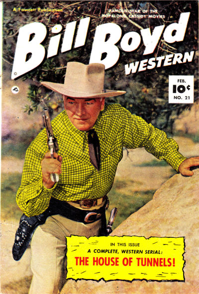 Cover for Bill Boyd Western (Fawcett, 1950 series) #21