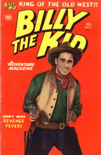 Cover for Billy the Kid Adventure Magazine (Toby, 1950 series) #5