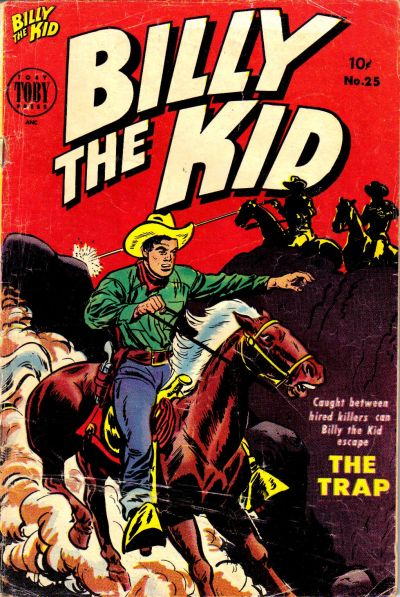 Cover for Billy the Kid Adventure Magazine (Toby, 1950 series) #25