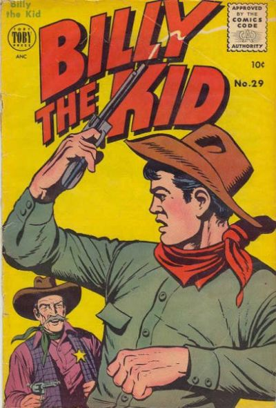 Cover for Billy the Kid Adventure Magazine (Toby, 1950 series) #29
