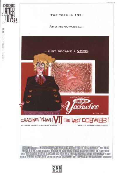 Cover for Cerebus (Aardvark-Vanaheim, 1977 series) #288