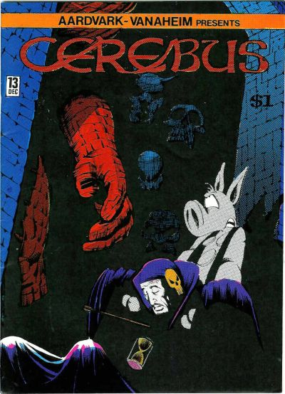 Cover for Cerebus (Aardvark-Vanaheim, 1977 series) #13