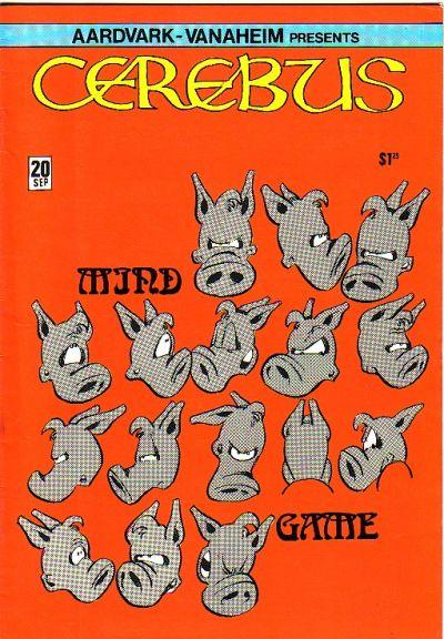 Cover for Cerebus (Aardvark-Vanaheim, 1977 series) #20