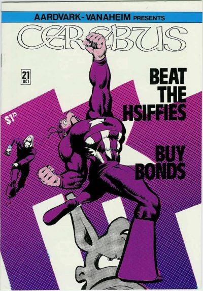 Cover for Cerebus (Aardvark-Vanaheim, 1977 series) #21