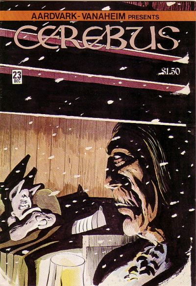 Cover for Cerebus (Aardvark-Vanaheim, 1977 series) #23
