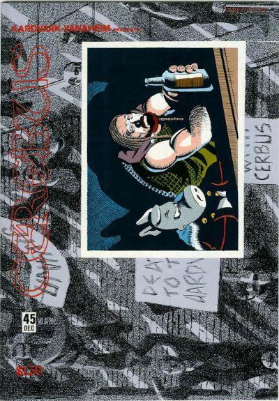 Cover for Cerebus (Aardvark-Vanaheim, 1977 series) #45