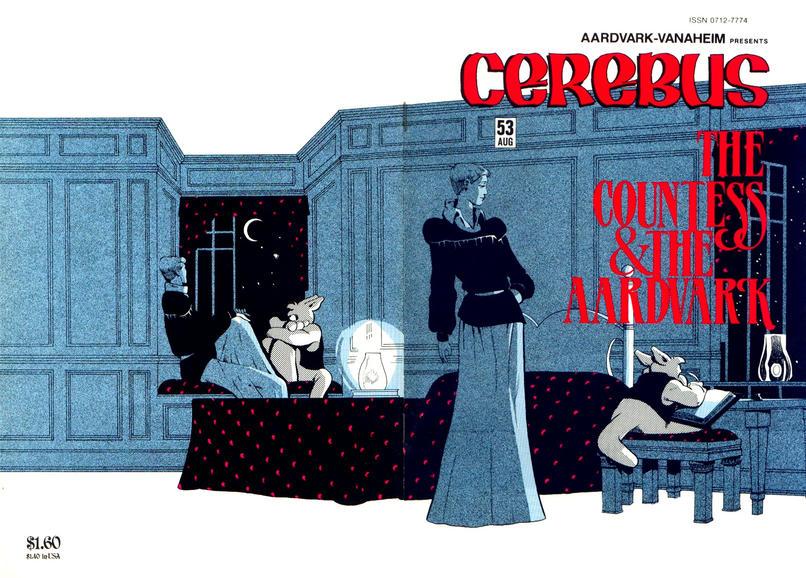 Cover for Cerebus (Aardvark-Vanaheim, 1977 series) #53