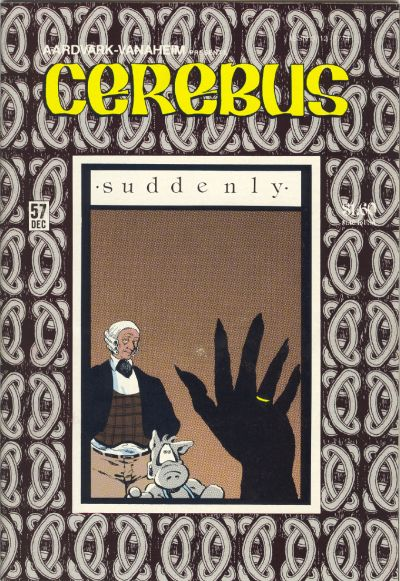 Cover for Cerebus (Aardvark-Vanaheim, 1977 series) #57