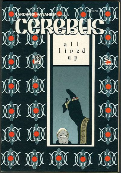 Cover for Cerebus (Aardvark-Vanaheim, 1977 series) #58