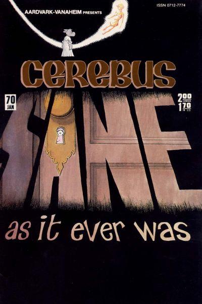 Cover for Cerebus (Aardvark-Vanaheim, 1977 series) #70