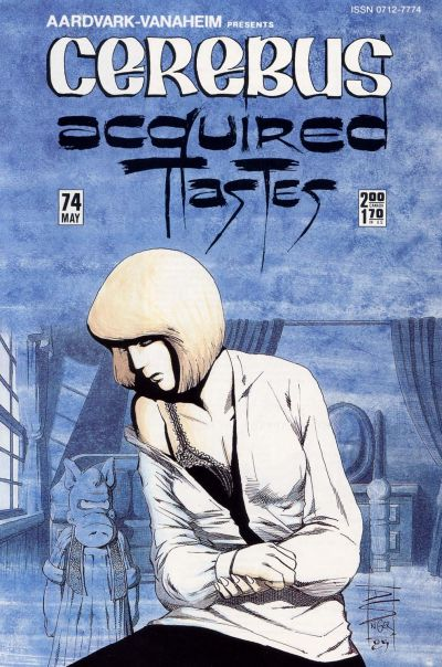 Cover for Cerebus (Aardvark-Vanaheim, 1977 series) #74