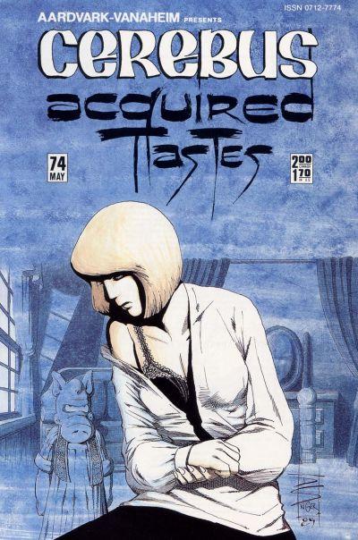 Cover for Cerebus (Aardvark-Vanaheim, 1977 series) #74