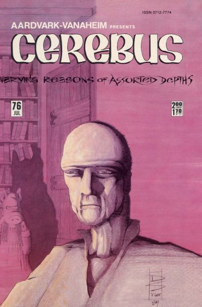 Cover for Cerebus (Aardvark-Vanaheim, 1977 series) #76