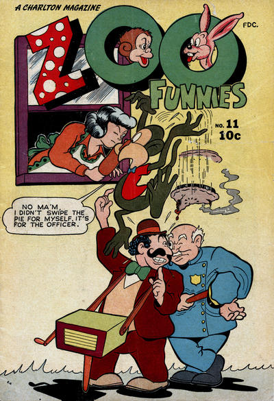 Cover for Zoo Funnies (Charlton, 1945 series) #11