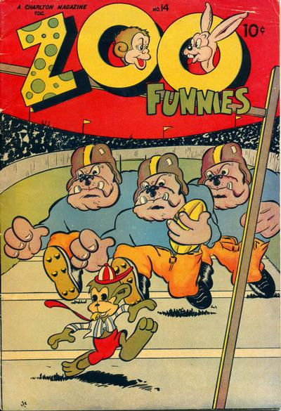 Cover for Zoo Funnies (Charlton, 1945 series) #14