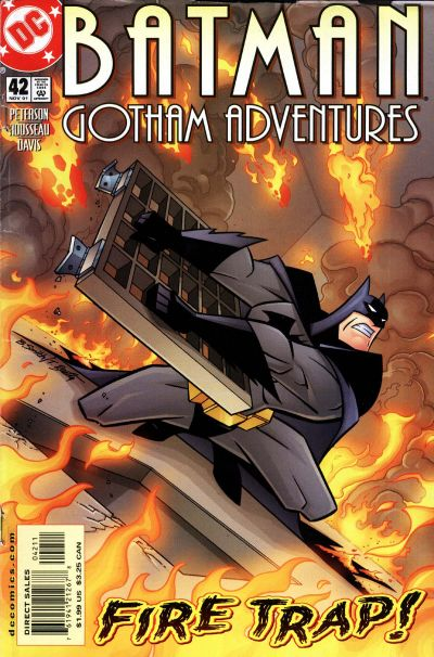Cover for Batman: Gotham Adventures (DC, 1998 series) #42