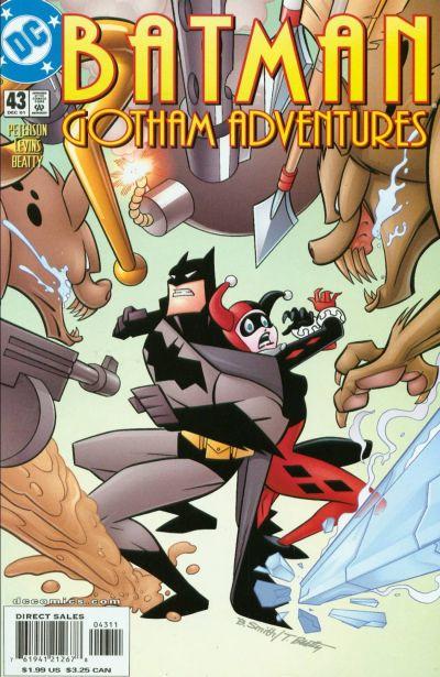 Cover for Batman: Gotham Adventures (DC, 1998 series) #43