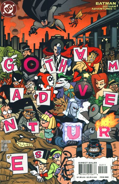 Cover for Batman: Gotham Adventures (DC, 1998 series) #45