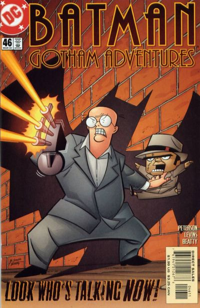 Cover for Batman: Gotham Adventures (DC, 1998 series) #46