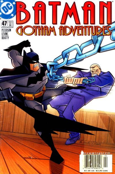 Cover for Batman: Gotham Adventures (DC, 1998 series) #47
