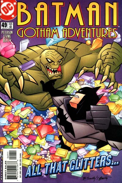 Cover for Batman: Gotham Adventures (DC, 1998 series) #49 [Direct Sales]
