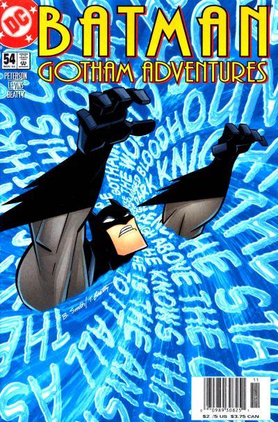 Cover for Batman: Gotham Adventures (DC, 1998 series) #54