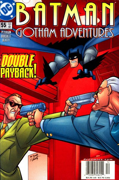 Cover for Batman: Gotham Adventures (DC, 1998 series) #55 [Newsstand]