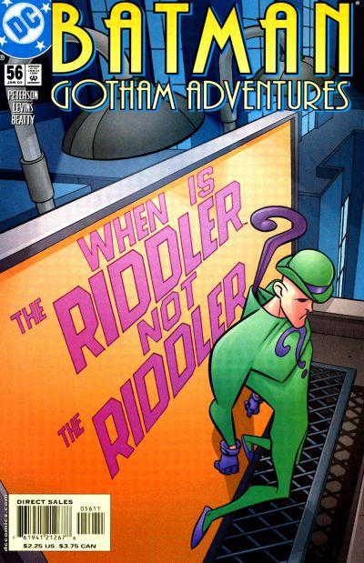 Cover for Batman: Gotham Adventures (DC, 1998 series) #56 [Direct Sales]