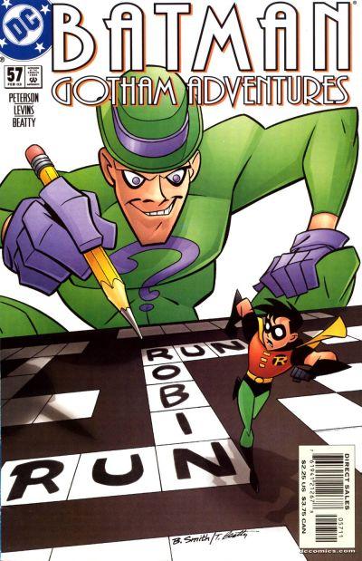 Cover for Batman: Gotham Adventures (DC, 1998 series) #57