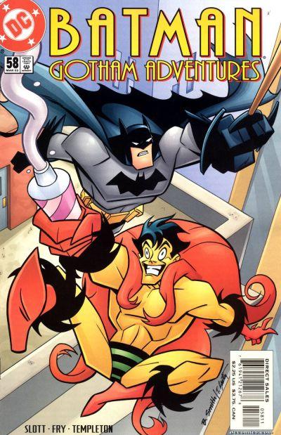 Cover for Batman: Gotham Adventures (DC, 1998 series) #58