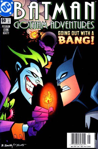 Cover for Batman: Gotham Adventures (DC, 1998 series) #60 [Direct Sales]