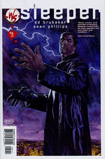 Cover for Sleeper (DC, 2003 series) #5