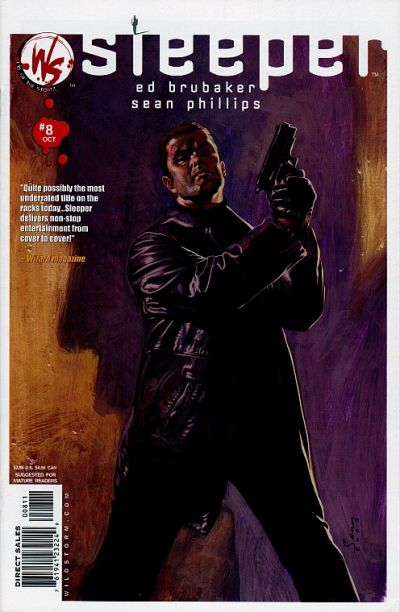 Cover for Sleeper (DC, 2003 series) #8