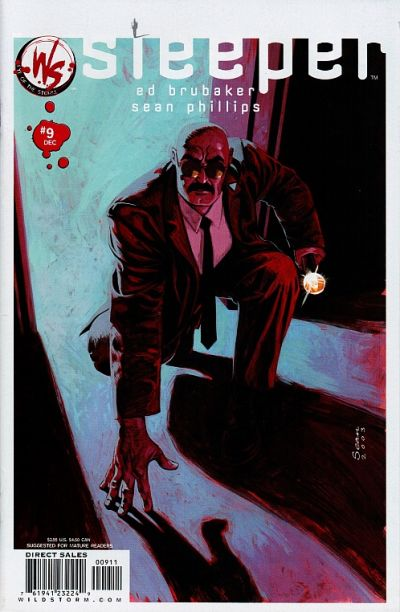 Cover for Sleeper (DC, 2003 series) #9