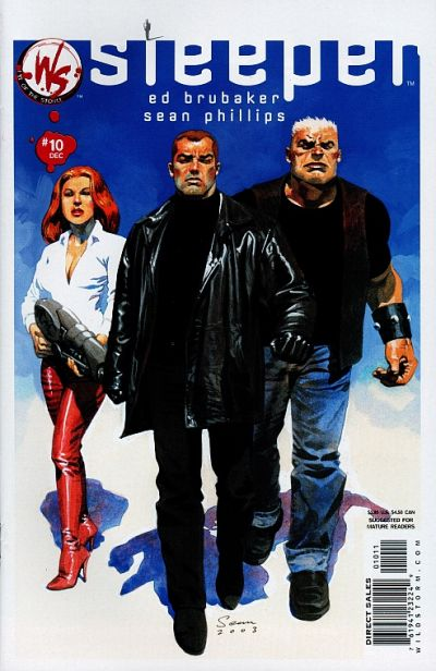 Cover for Sleeper (DC, 2003 series) #10