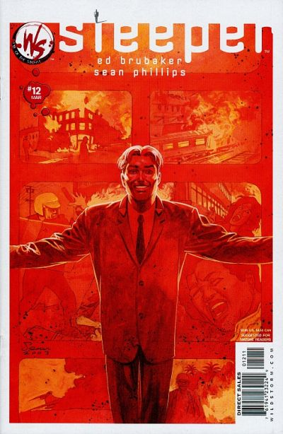 Cover for Sleeper (DC, 2003 series) #12