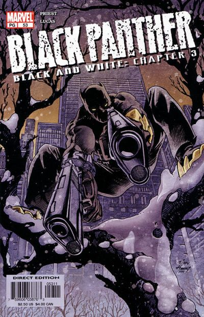 Cover for Black Panther (Marvel, 1998 series) #53