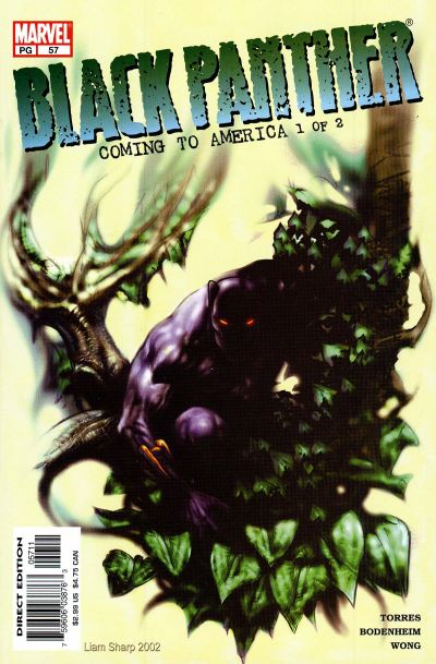 Cover for Black Panther (Marvel, 1998 series) #57