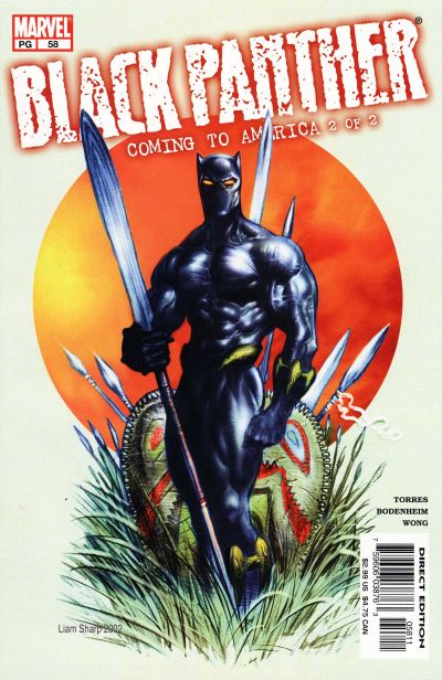 Cover for Black Panther (Marvel, 1998 series) #58