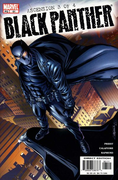 Cover for Black Panther (Marvel, 1998 series) #61