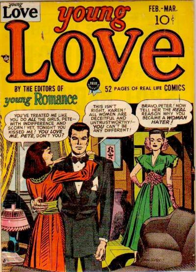 Cover for Young Love (Prize, 1949 series) #v1#1 [1]