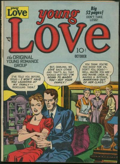 Cover for Young Love (Prize, 1949 series) #v2#8 [14]