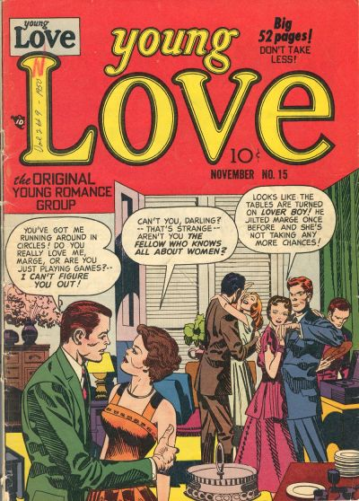 Cover for Young Love (Prize, 1949 series) #v2#9 (15)