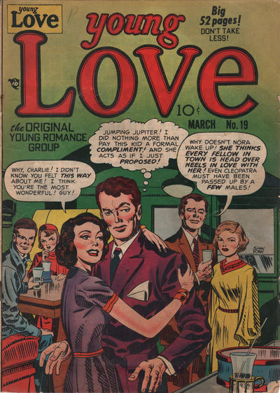 Cover for Young Love (Prize, 1949 series) #v3#1 (19)