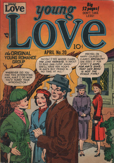 Cover for Young Love (Prize, 1949 series) #v3#2 (20)