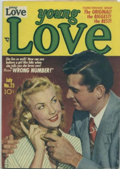 Cover for Young Love (Prize, 1949 series) #v3#5 (23)